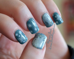 Images of Snowflake Nail Art
