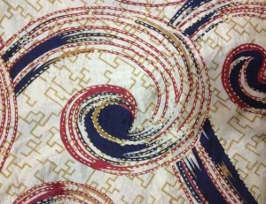 Kantha Embroidery Quilt