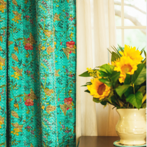 Kantha Quilt Curtains