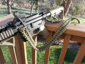 Knitted Paracord Rifle Sling