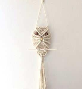 Macrame Owl Instructions