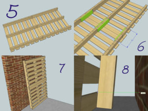 Pallet Bookcase Blueprint