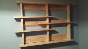 Pallet Bookshelf Instructions