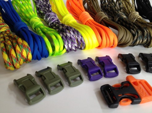Paracord Supplies