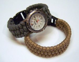 Paracord Watch Band Bracelet