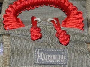 Paracord Zip Pulls
