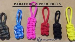 Paracord Zipper Pull Patterns