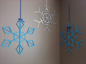 Popsicle Stick Snowflake