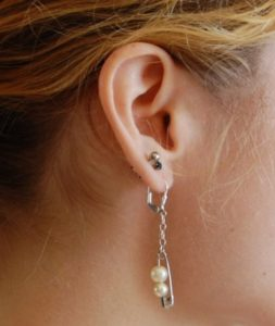 Safety Pins Earring