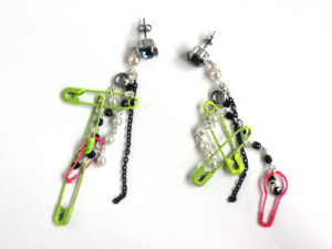 Stylish Safety Pins Earring