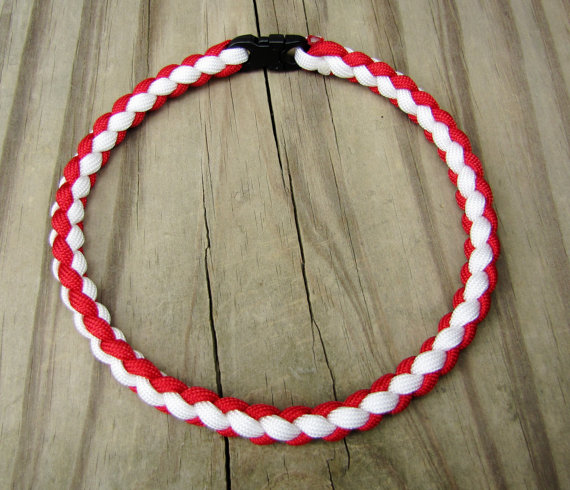 Baseball Paracord Necklace
