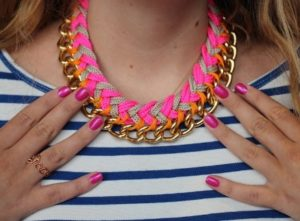 Braided Paracord Necklace