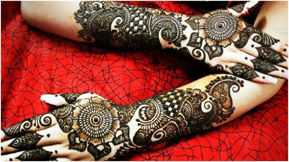 Bridal Mehndi Design for Back Hand