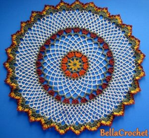 Crochet Doily Design