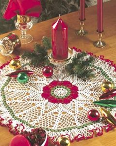 Crochet Doily Pattern Christmas