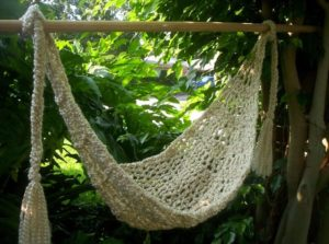 crochet hammock 25 diy crochet hammock free patterns  rh   ideas4diy