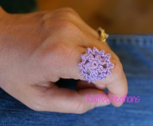 Crochet Ring Flower