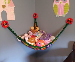 Crochet Toy Hammock