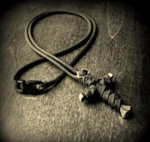 Cross Paracord Necklace