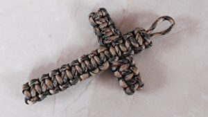 DIY Paracord Cross