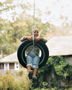 DIY Tree Tire Swing