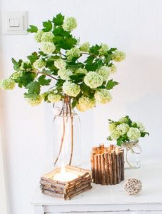 Decorative Twig Candle Holder