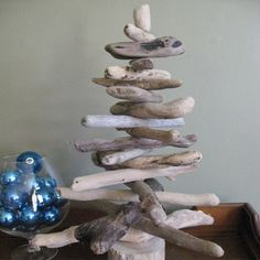 Driftwood Christmas Tree DIY