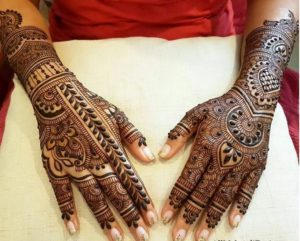 Dulhan Mehndi Design Images