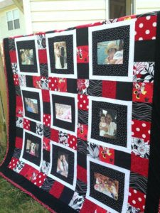 Family Photo Quilt Pattern