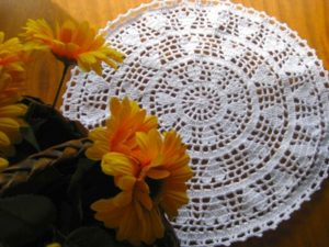 Filet Crochet Doily Pattern