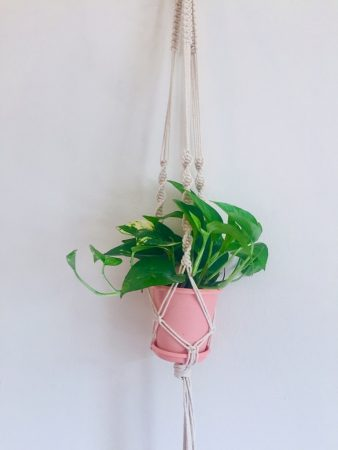 How to Make Macrame Plant Hanger