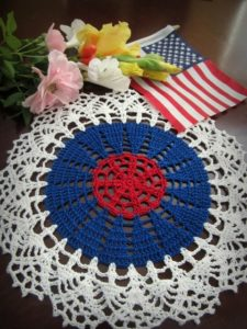 Lace Crochet Doily Pattern