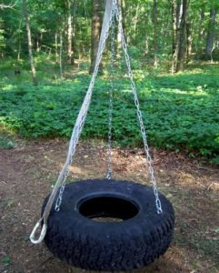 Large Tire Swing