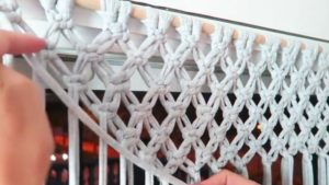 Macrame Lace Curtain