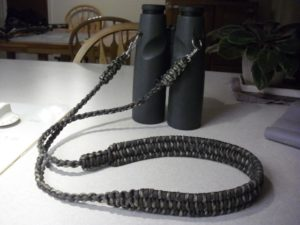 Make Paracord Binocular Strap