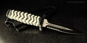 Make Paracord Knife Wrap