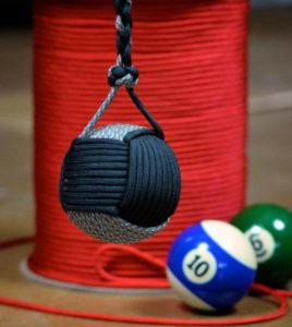 Monkey Fist Paracord Pool Ball