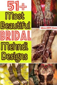 Most Beautiful Bridal Mehndi Designs