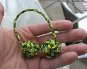 Multicolored Paracord Monkey Fist