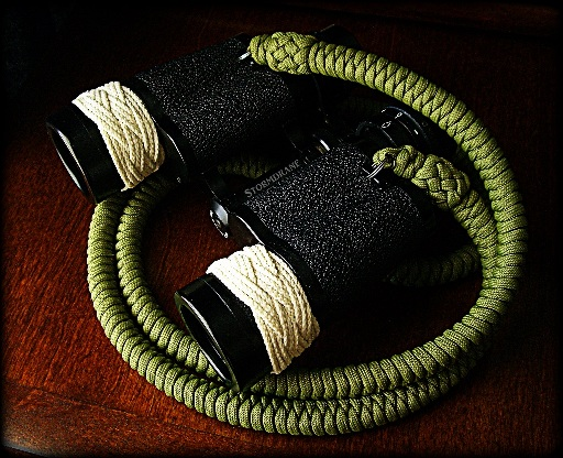 Paracord Binocular Strap Instructions