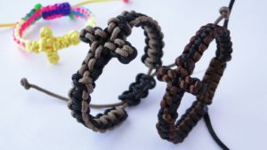 Paracord Cross Pattern