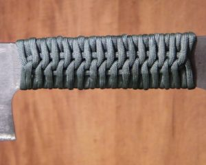 Paracord Knife Handle Design