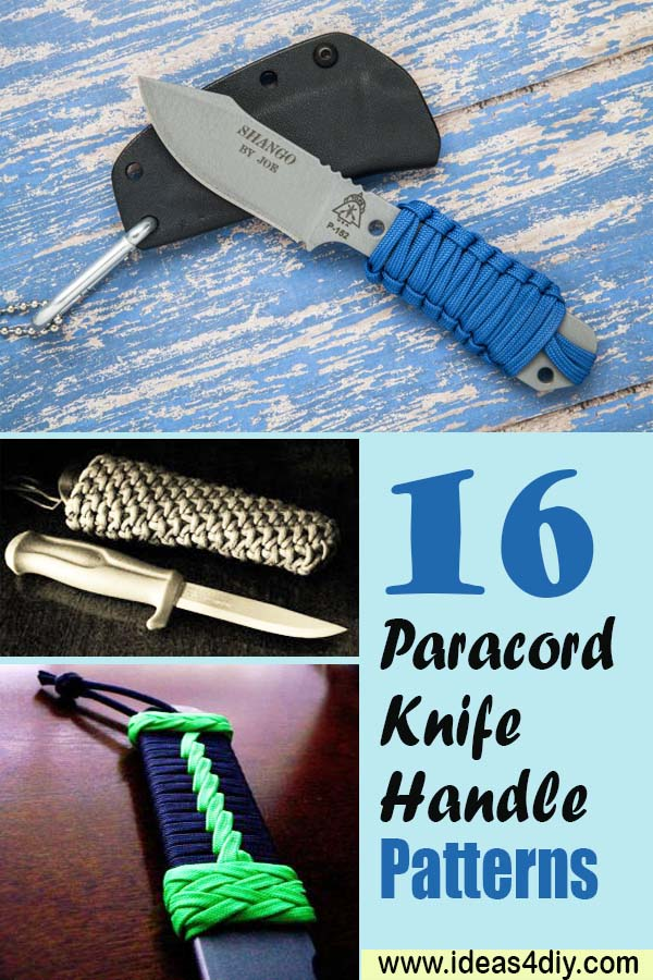 Paracord Knife Handle Patterns