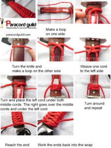 Paracord Knife Handle Wrap Instructions