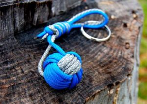 Paracord Monkey Fist Keychain