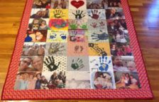 Patchwork Photo Quilt
