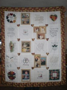 Photo Collage Quilt