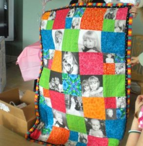 Printed Photo Quilt