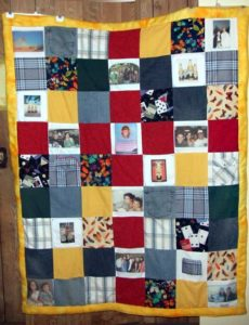 Quilt with Photos