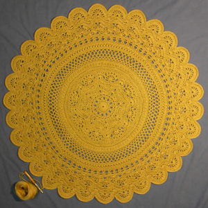Rings of Change Crochet Doily Pattern
